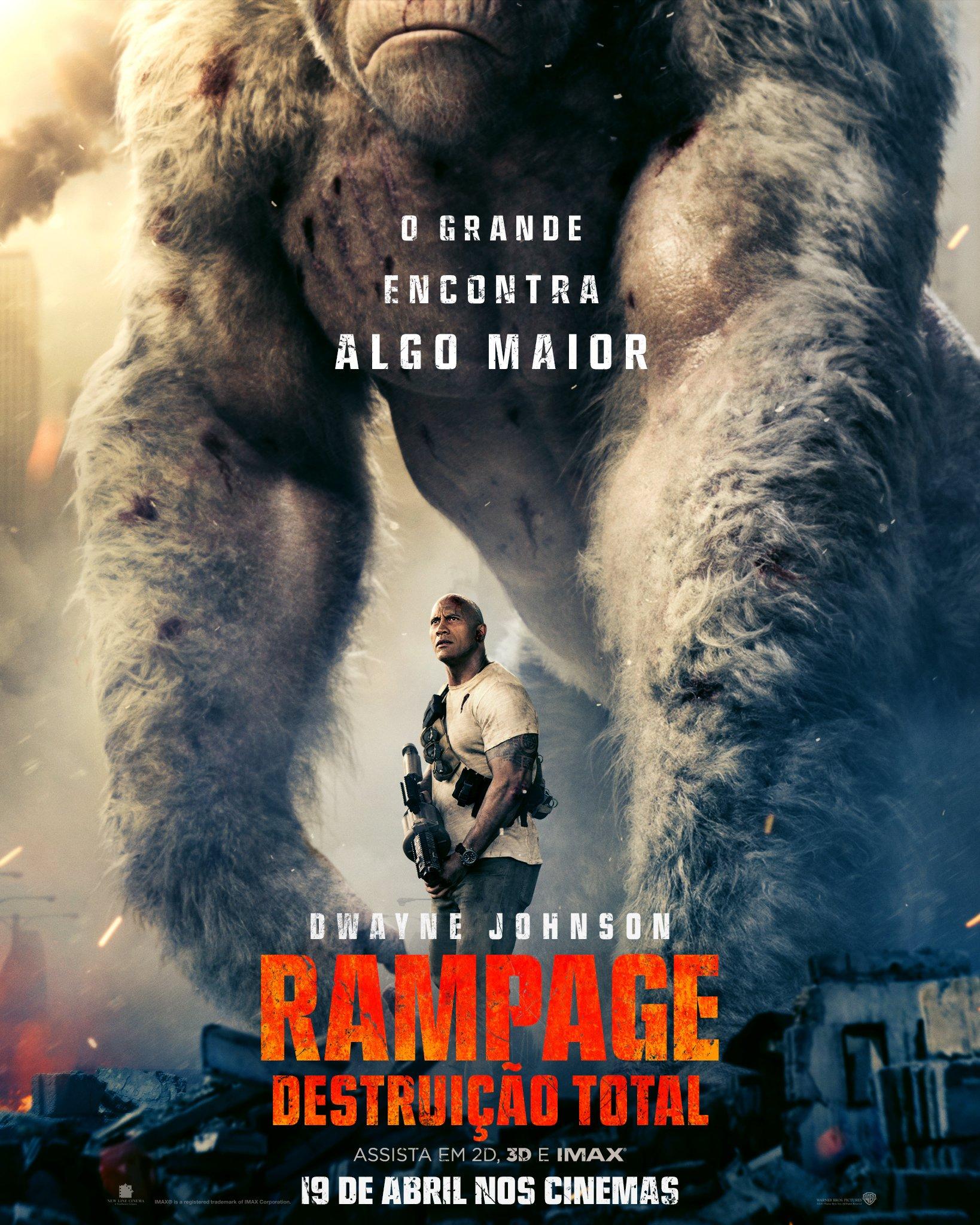 Poster de Rampage - Destruição Total