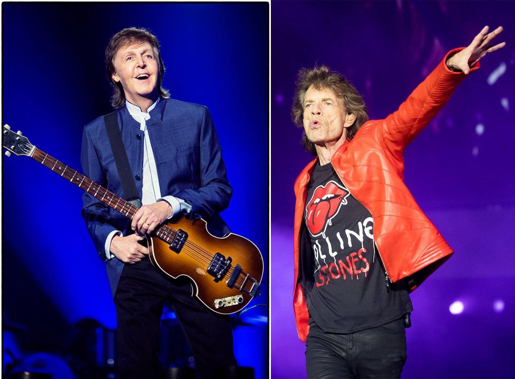 Paul McCartney e Rolling Stones negociam volta ao Brasil