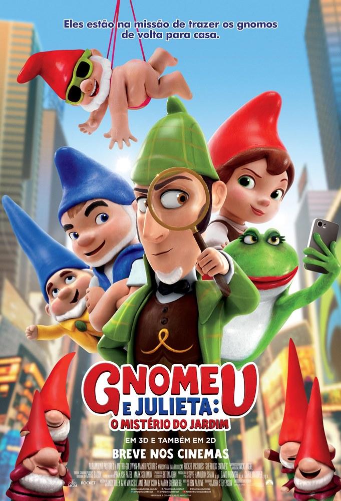 Poster de Gnomeu e Julieta: O Mistério do Jardim