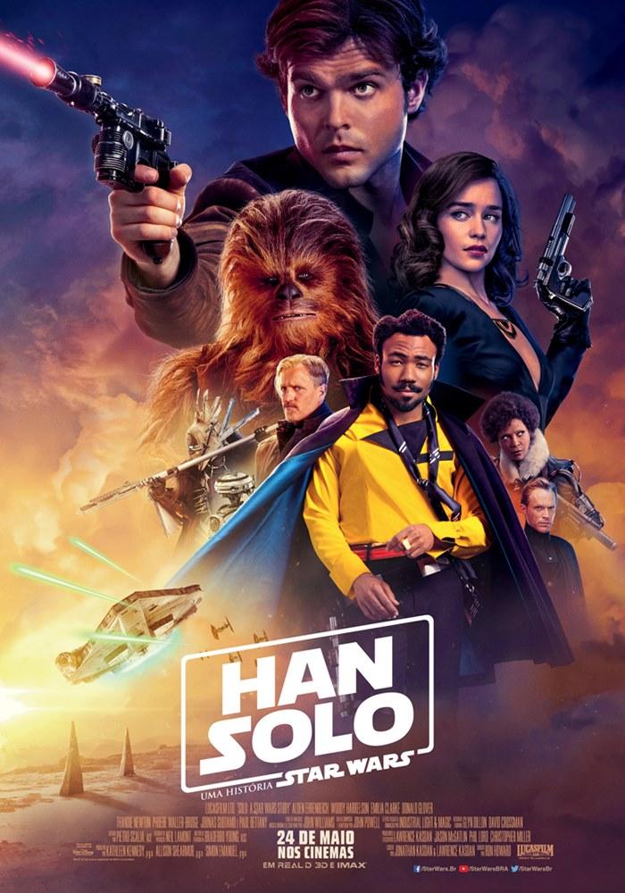 Poster de Han Solo: Uma História Star Wars