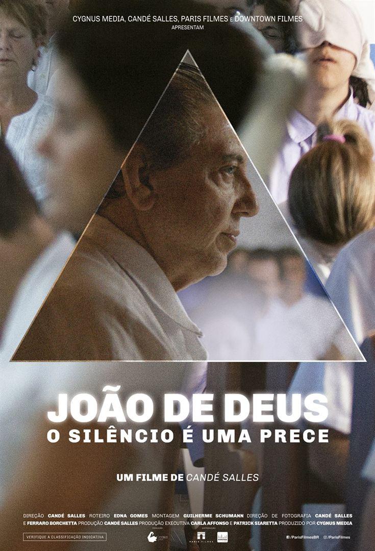 Poster de João de Deus - O Silêncio é uma Prece