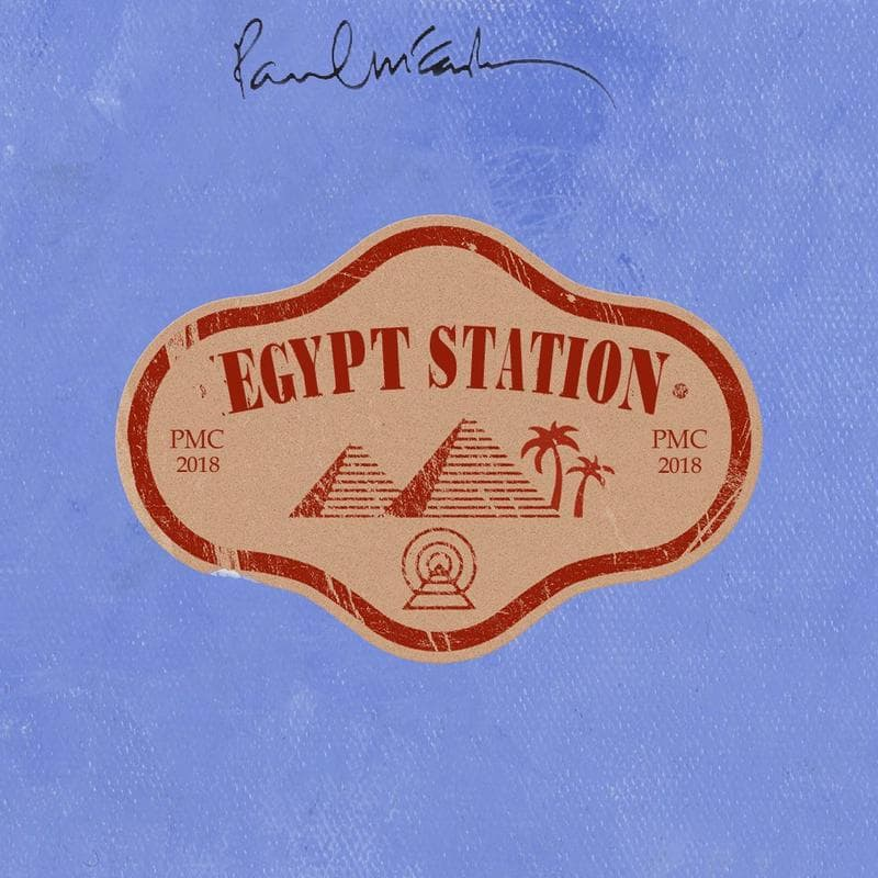 "Paul McCartney capa e nome de seu novo álbum, ""Egypt Station"""