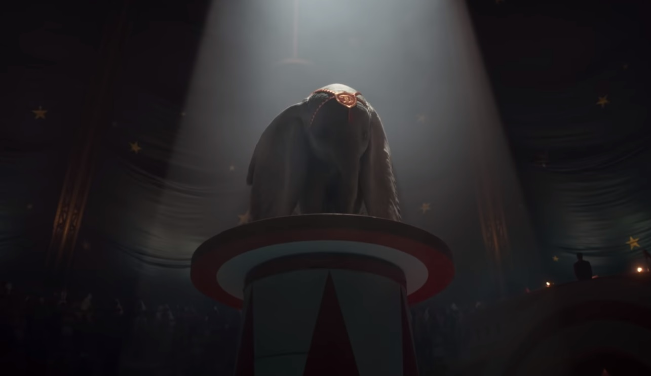 Disney revela primeiro trailer do live-action de Dumbo