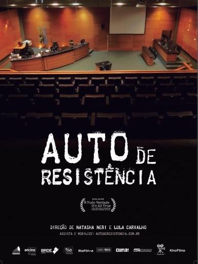 Poster de Auto de Resistência
