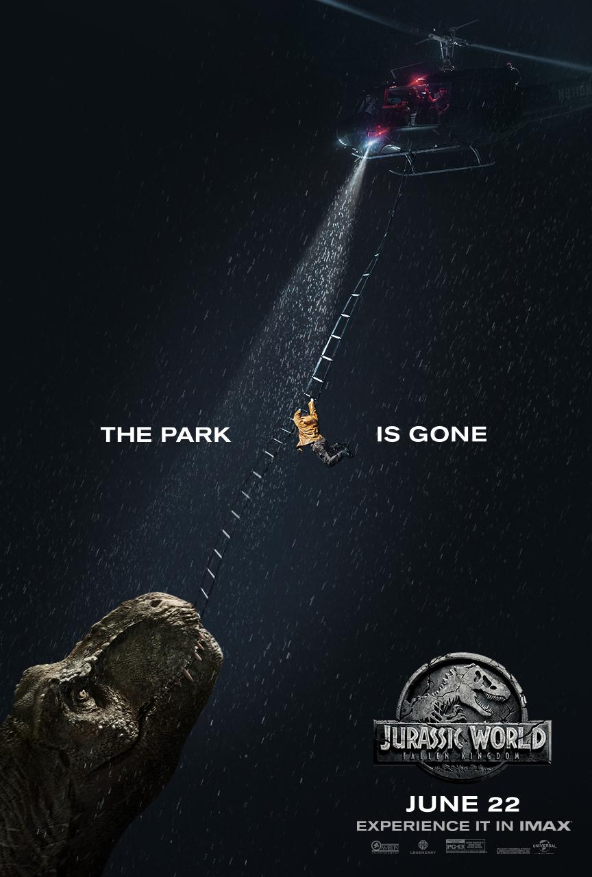 Poster IMAX de Jurassic World: Reino Ameaçado