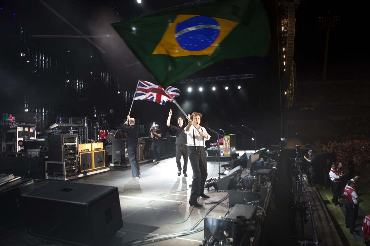 Paul McCartney - Up and Coming tour