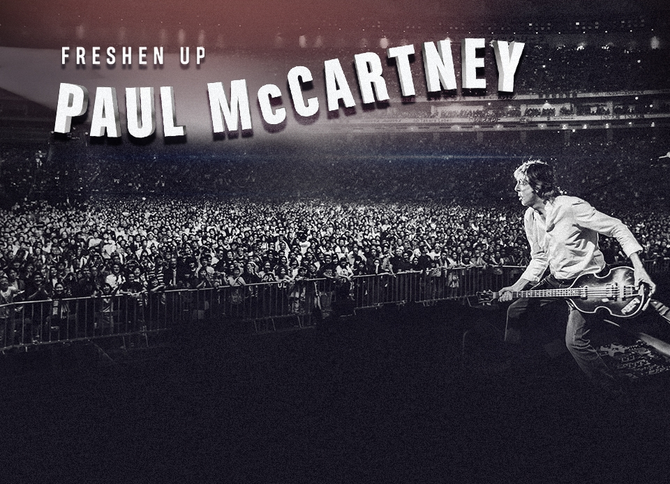 "Paul McCartney anuncia nova turnê mundial, ""Freshen Up"""