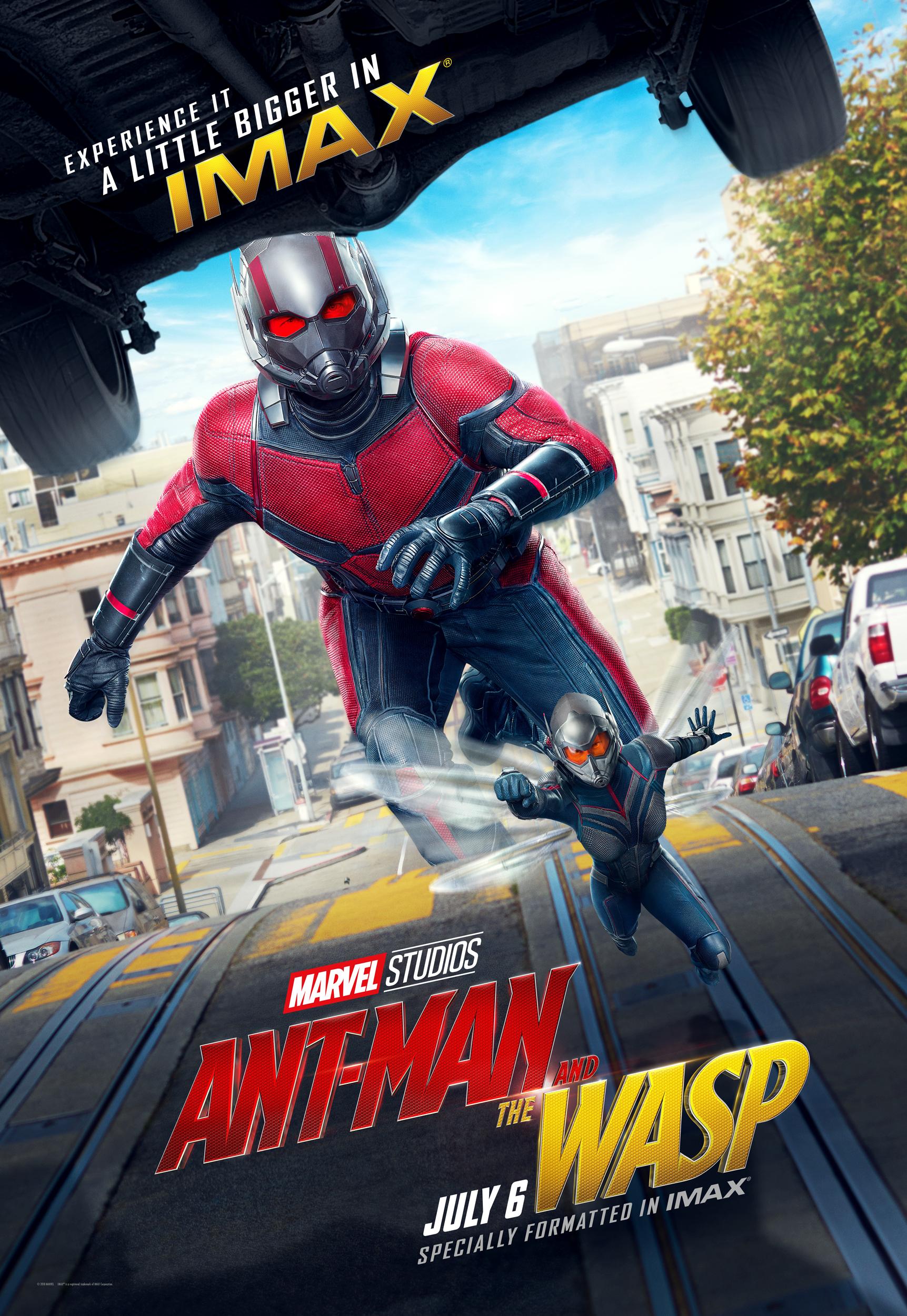 Poster IMAX de Homem-Formiga e a Vespa