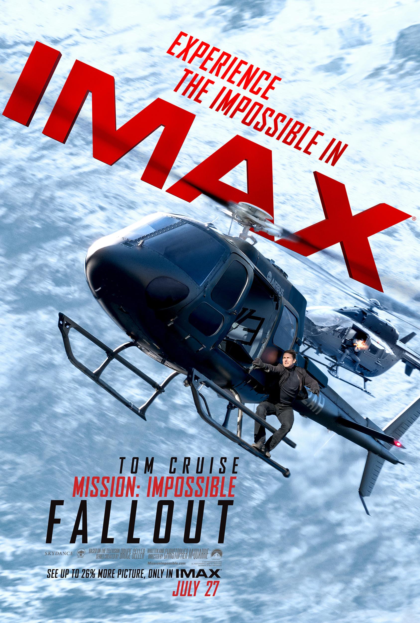 Poster IMAX de Missão Impossível - Efeito Fallout