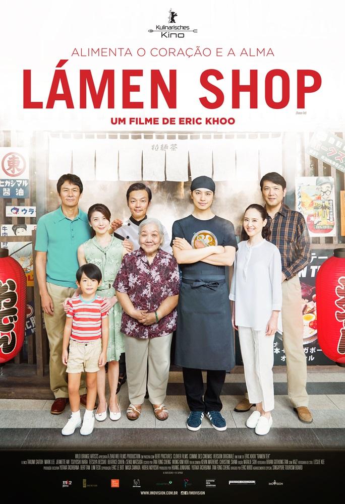 Poster de Lamen Shop