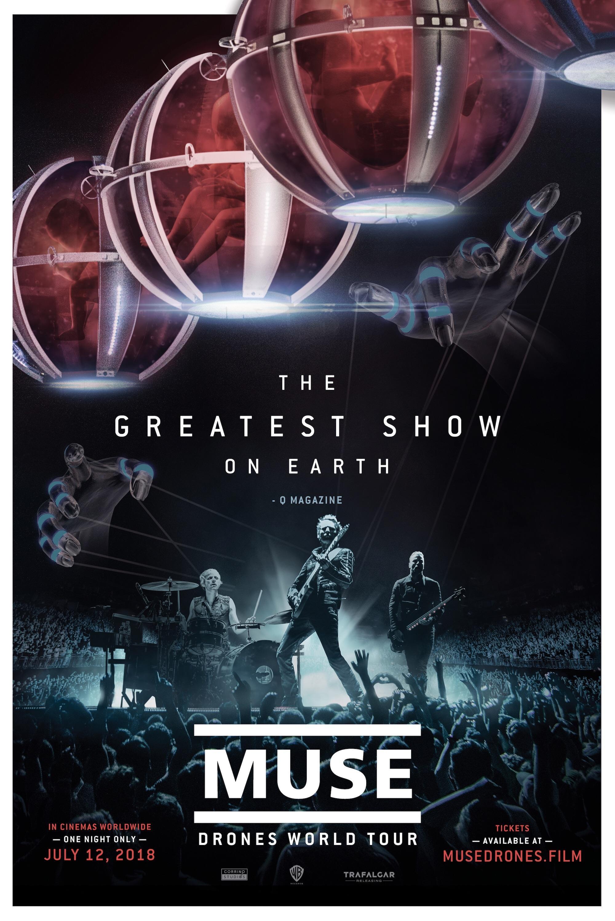 Poster de Muse - Drones World Tour
