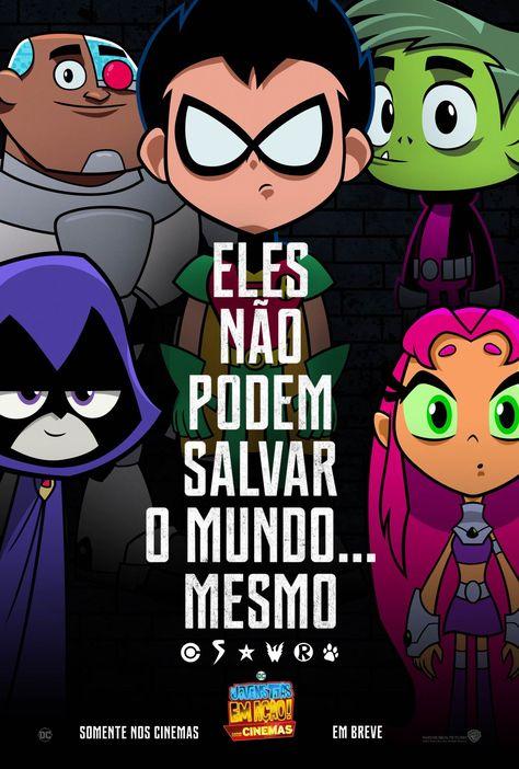 Poster de Os Jovens Titãs em Ação! Nos Cinemas