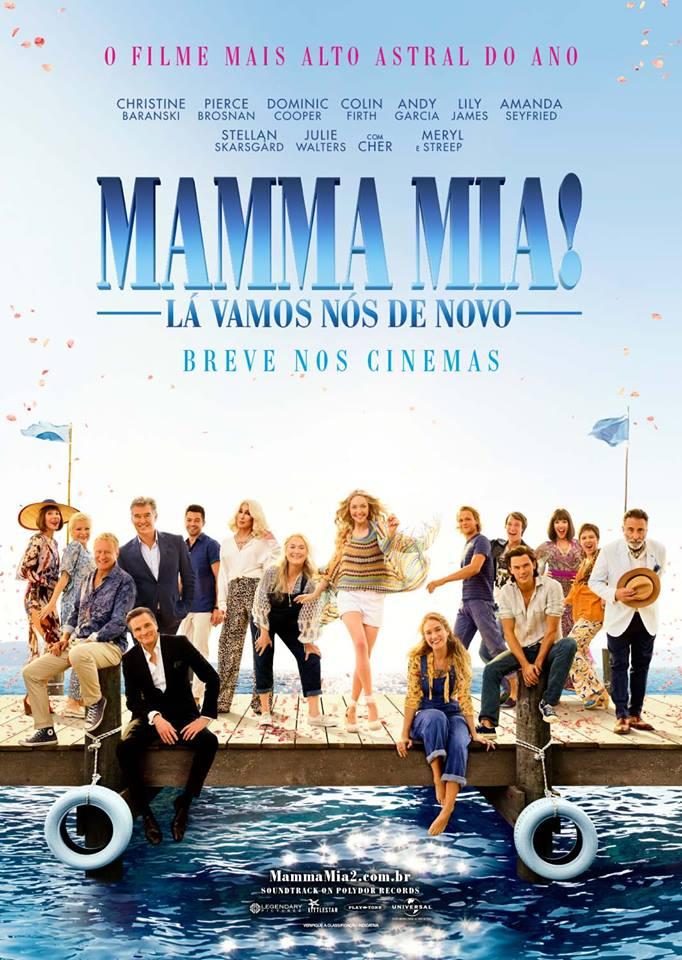 Poster de Mamma Mia! Lá Vamos Nós de Novo