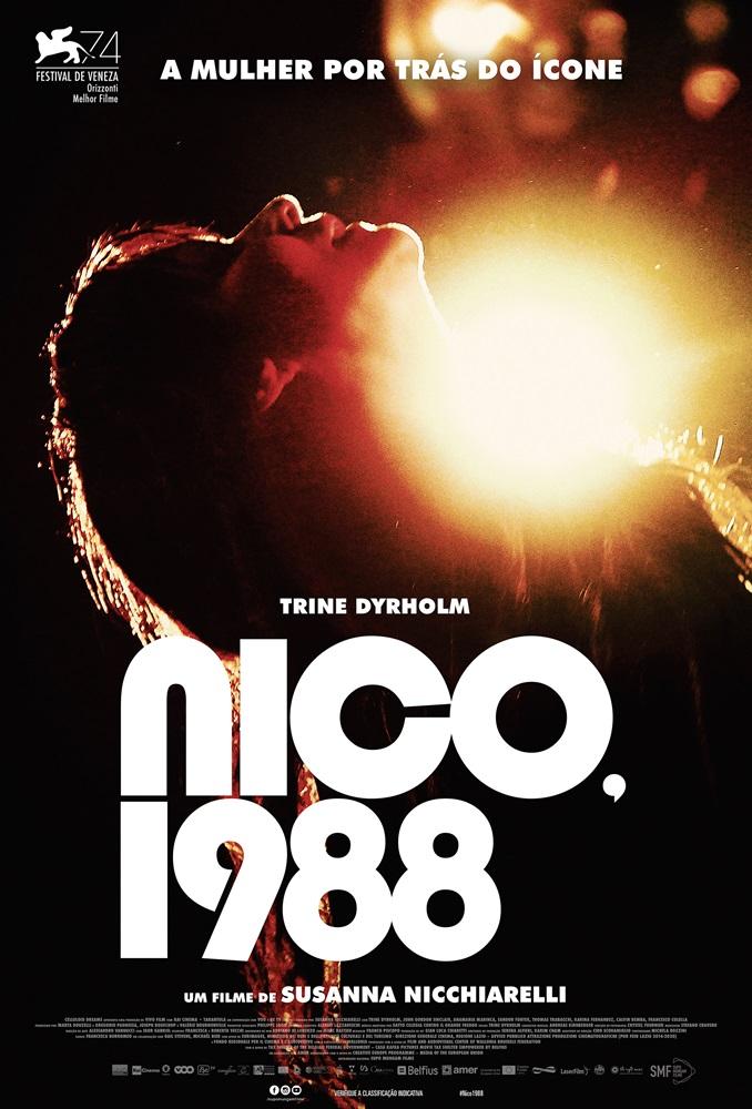 Poster de Nico, 1988