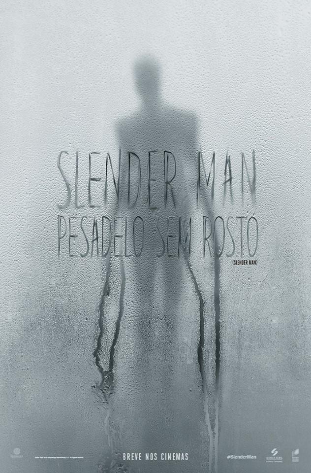 Poster de Slender Man - Pesadelo Sem Rosto