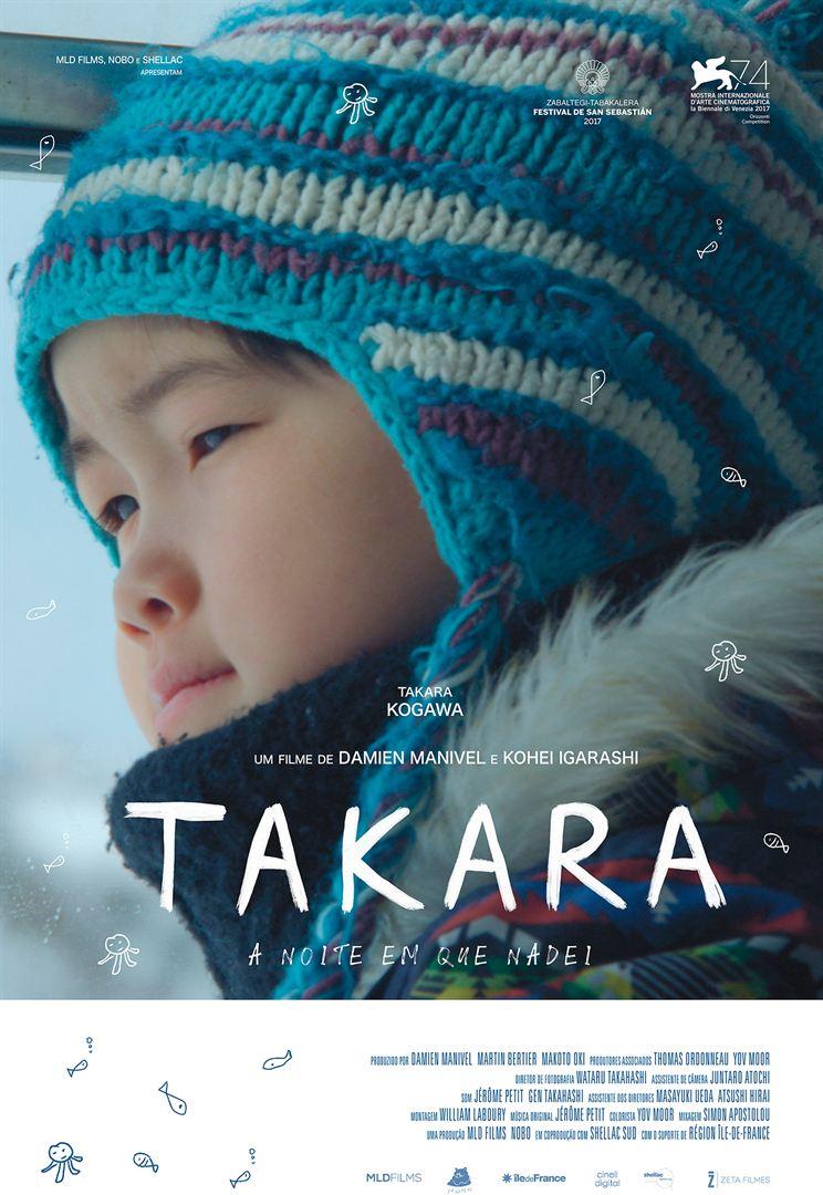 Poster de Takara - A Noite em que Nadei