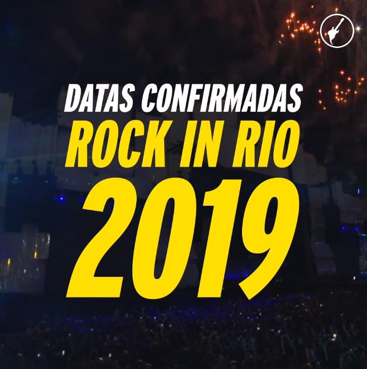 Rock in Rio 2019 | Festival já tem datas confirmadas