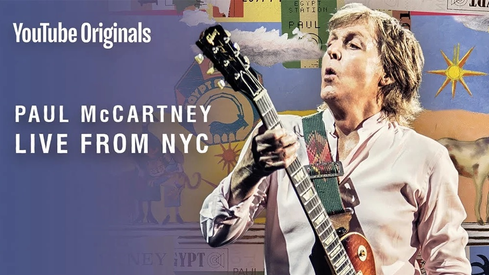 "AO VIVO: Assista ao show ""secreto"" de Paul McCartney em Nova York"