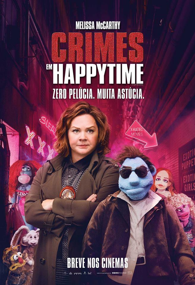 Poster de Crimes em Happytime