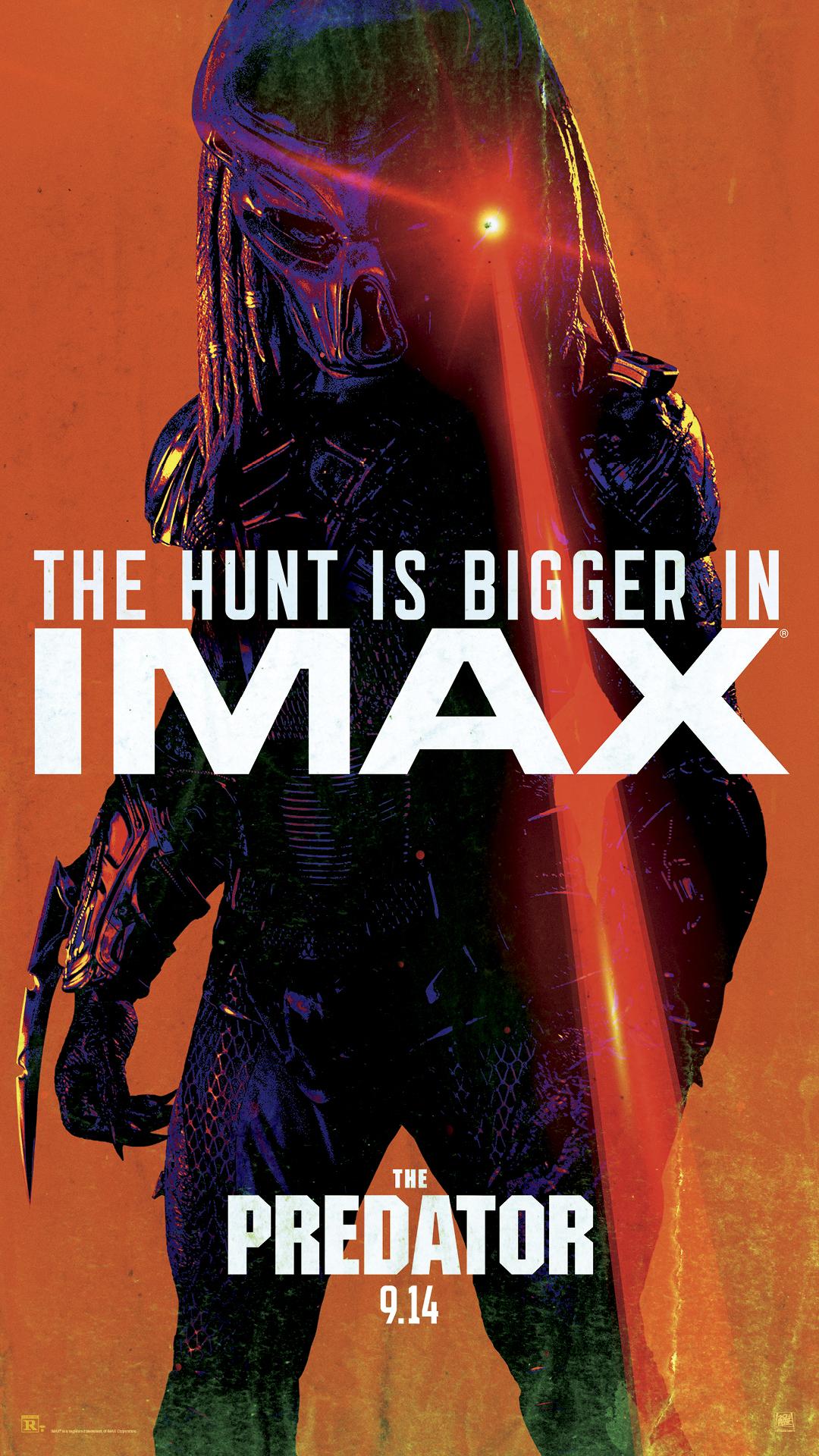 Poster IMAX de O Predador