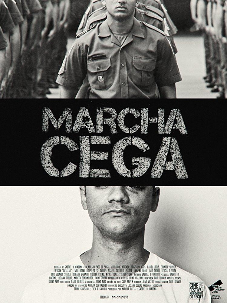 Poster de Marcha Cega