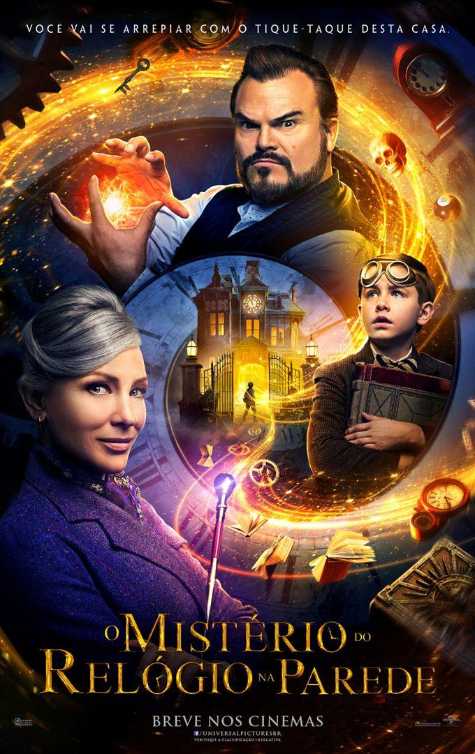 Poster de O Mistério do Relógio na Parede
