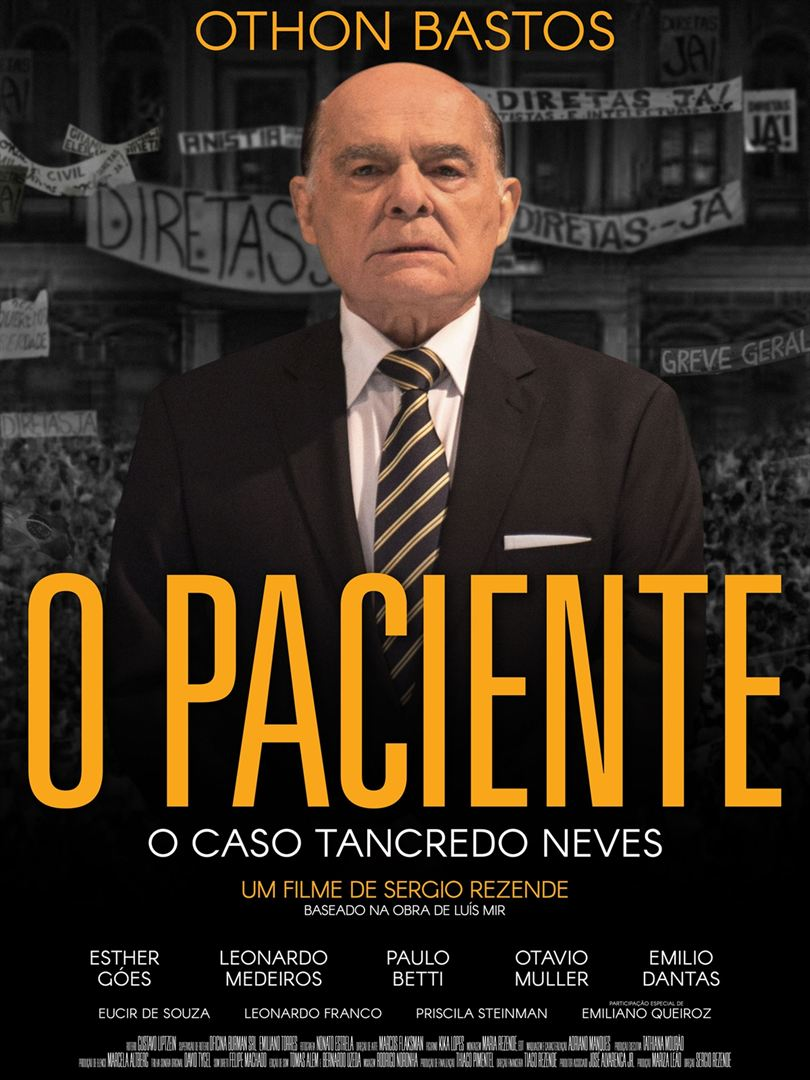Poster de O Paciente - O Caso Tancredo Neves