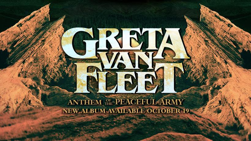 """Ouça """"Anthem of The Peaceful Army"""", álbum de estreia do Greta Van Fleet"""