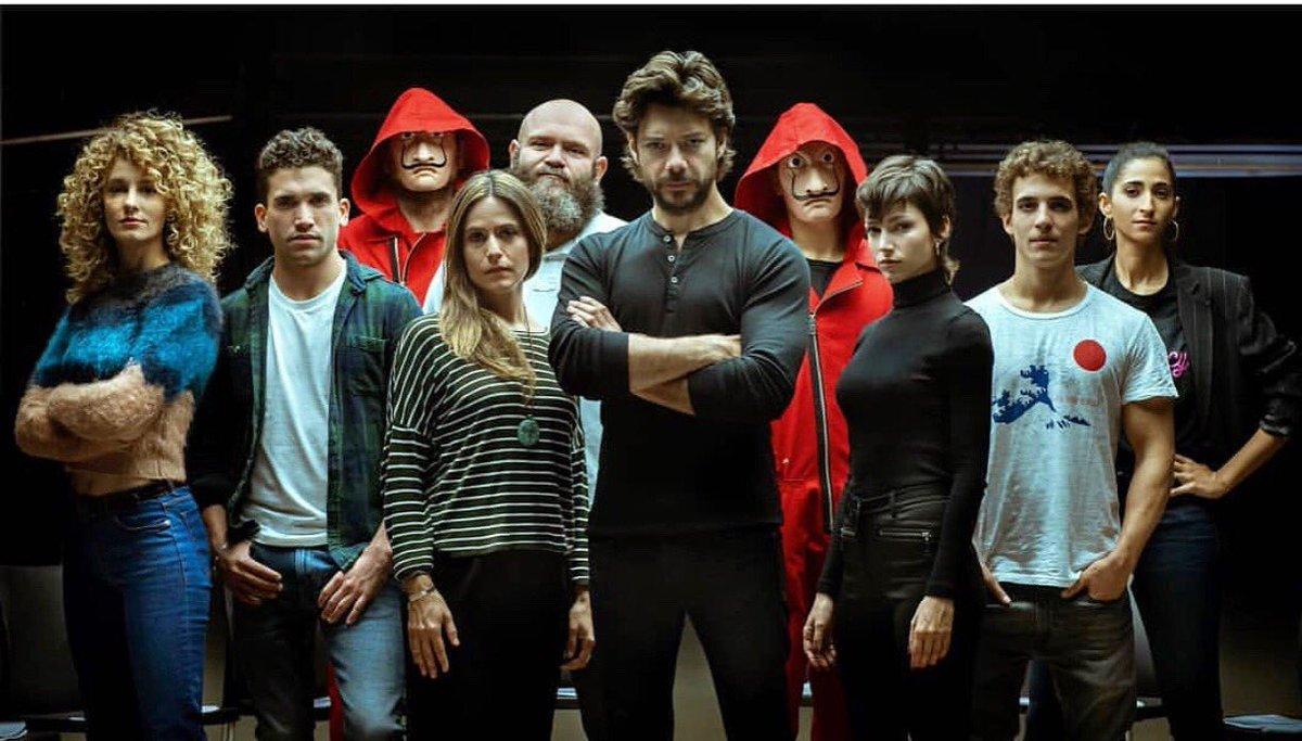 """Vídeo anuncia o início da produção da 3º temporada de """"La Casa De Papel"""""""