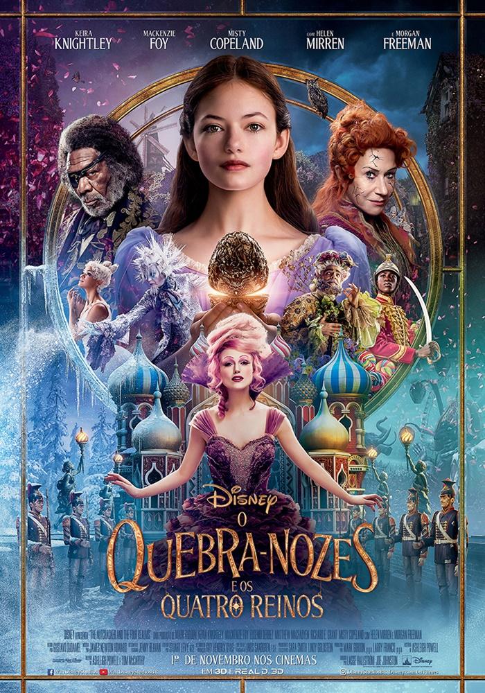 Poster de O Quebra-Nozes e os Quatro Reinos