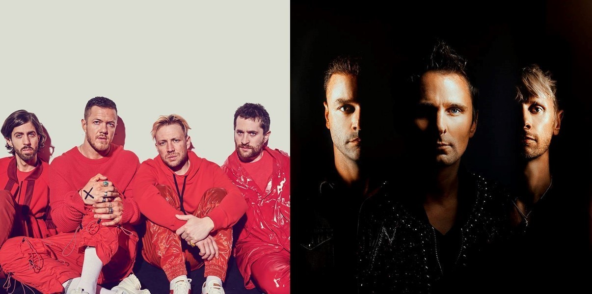 Muse e Imagine Dragons serão headliners do Rock in Rio 2019