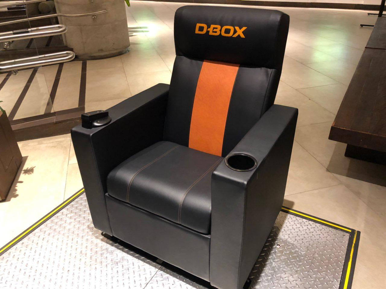 Poltrona D-BOX Bali