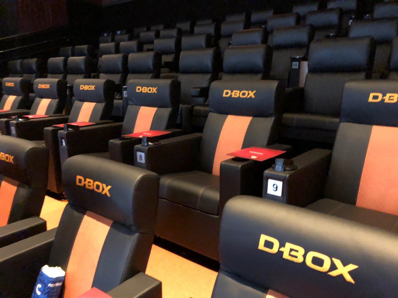 Poltrona D-BOX Bali na sala