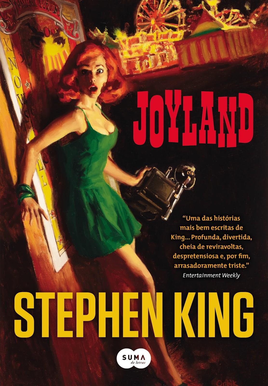 Joyland, de Stephen King, será adaptada para série de TV