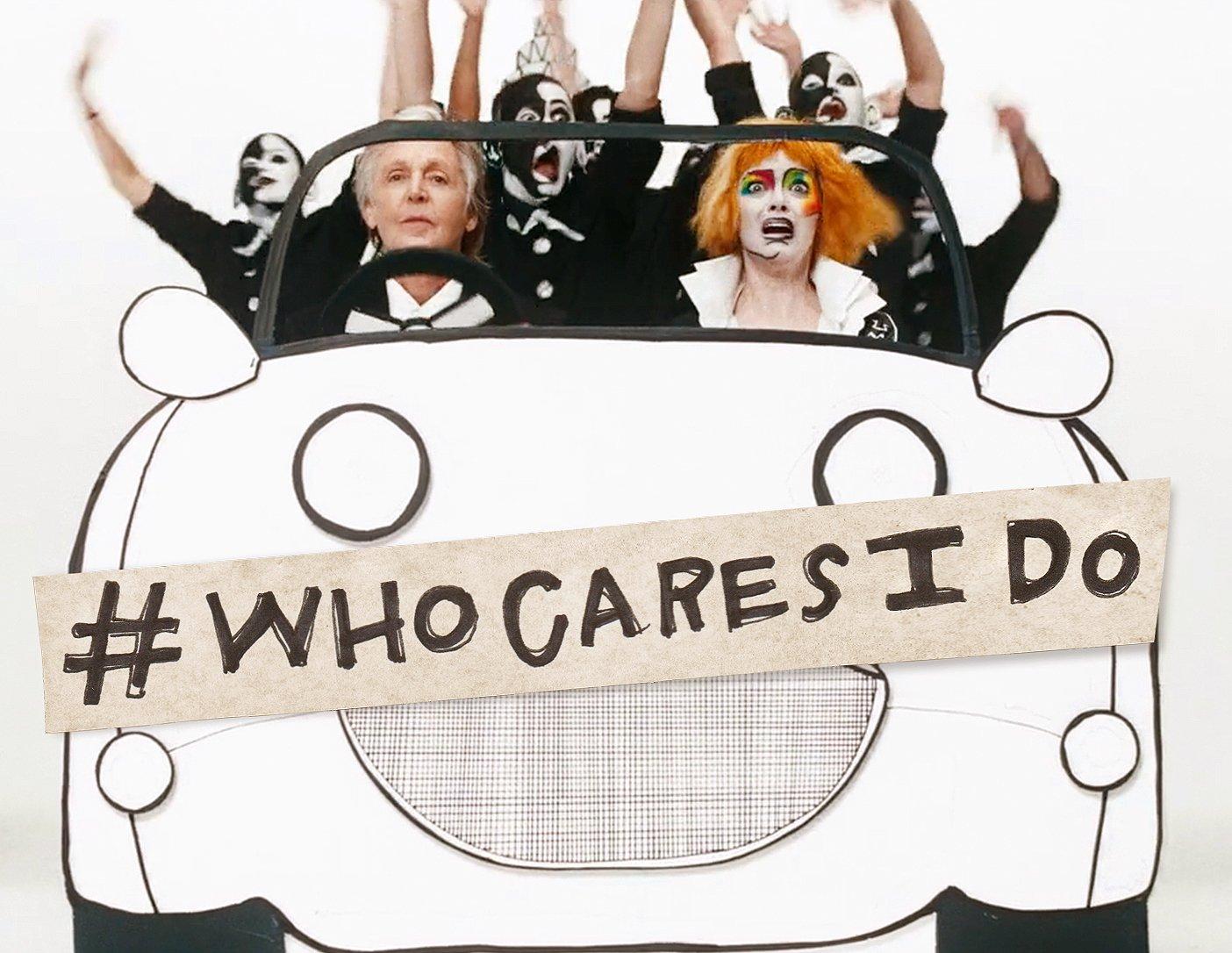 """Com Emma Stone, Paul McCartney estrela clipe de """"Who Cares""""; assista"""