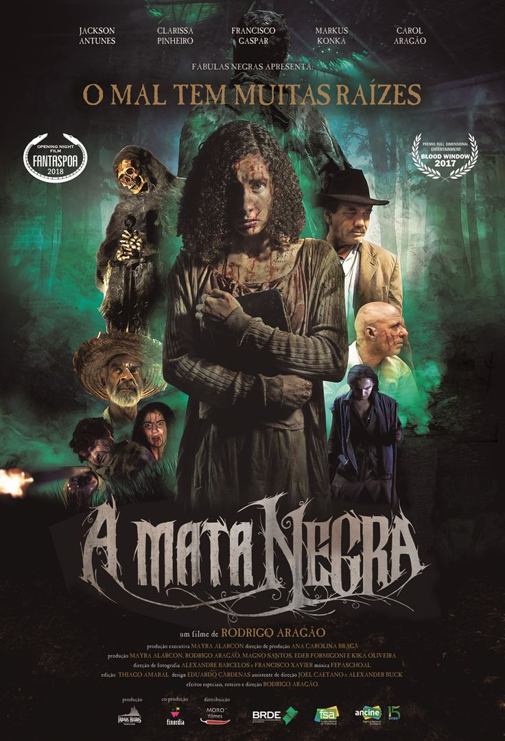 Poster de A Mata Negra