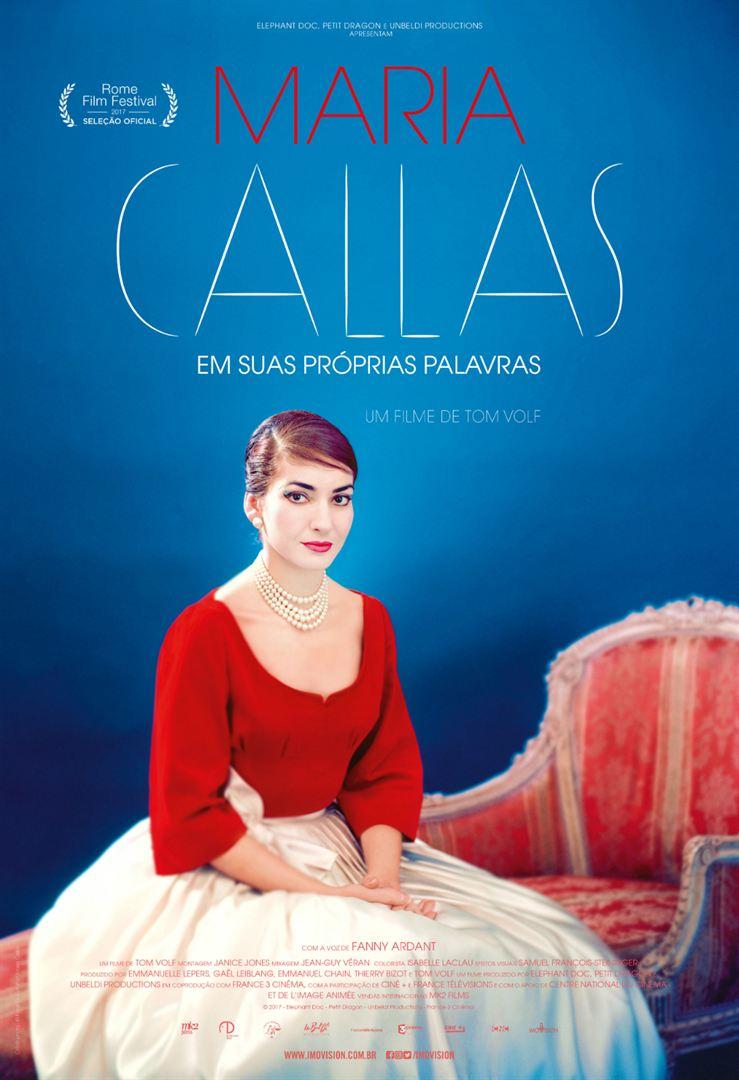 Poster de Maria Callas Em Suas Próprias Palavras