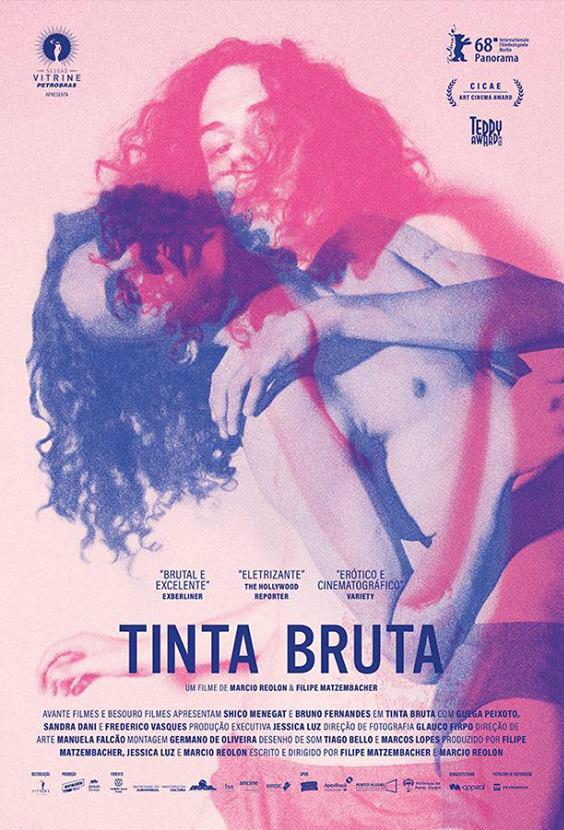 Poster de Tinta Bruta