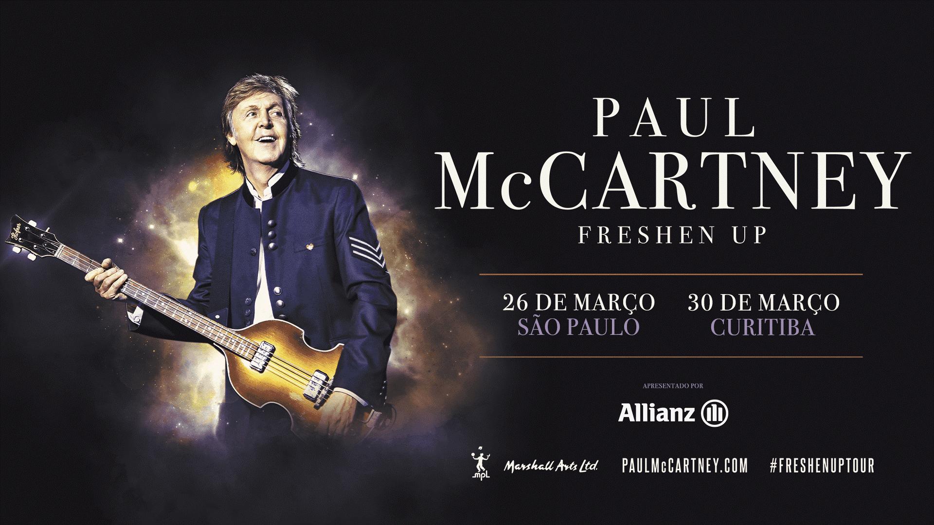 Pré-venda para shows de Paul McCartney acontecem nesta terça; veja como comprar