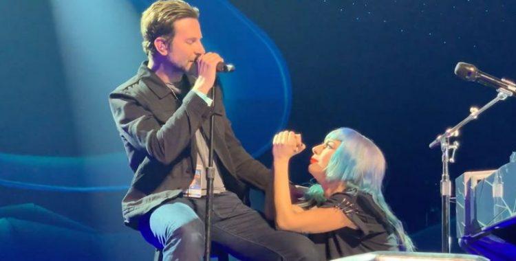 Lady Gaga e Bradley Cooper fazem dueto surpresa de Shallow em show
