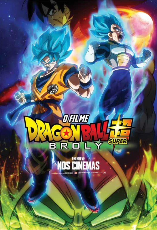 Poster de Dragon Ball Super: Broly - O Filme