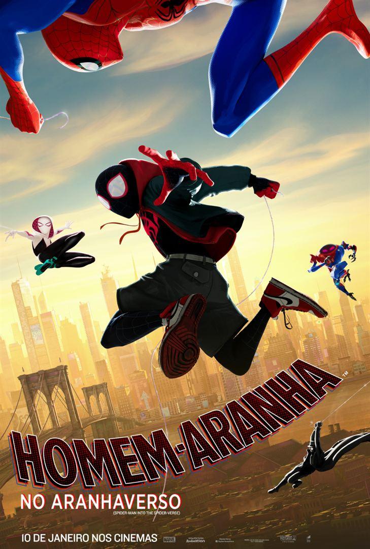 Poster de Homem-Aranha no Aranhaverso