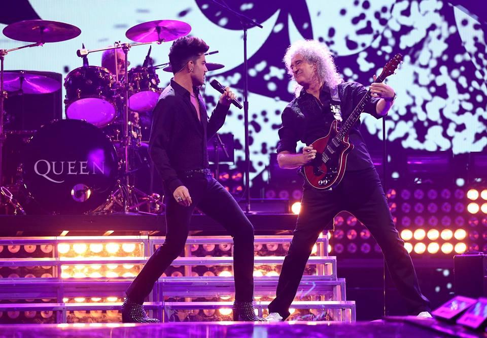 Queen e Adam Lambert se apresentarão no Oscar 2019