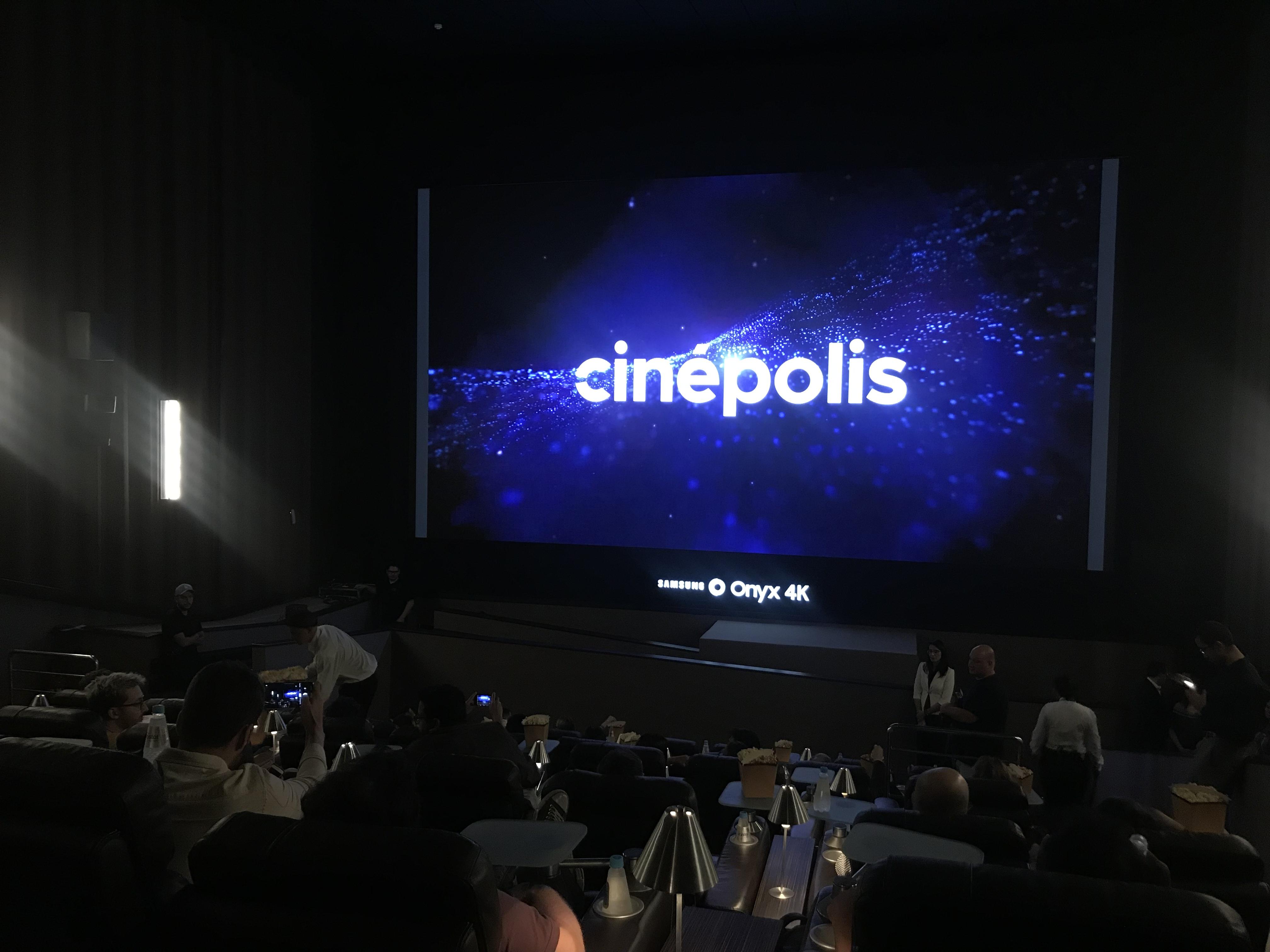 Cinépolis inaugura primeira tela LED modular do Brasil; conheça a Samsung Onyx 4k