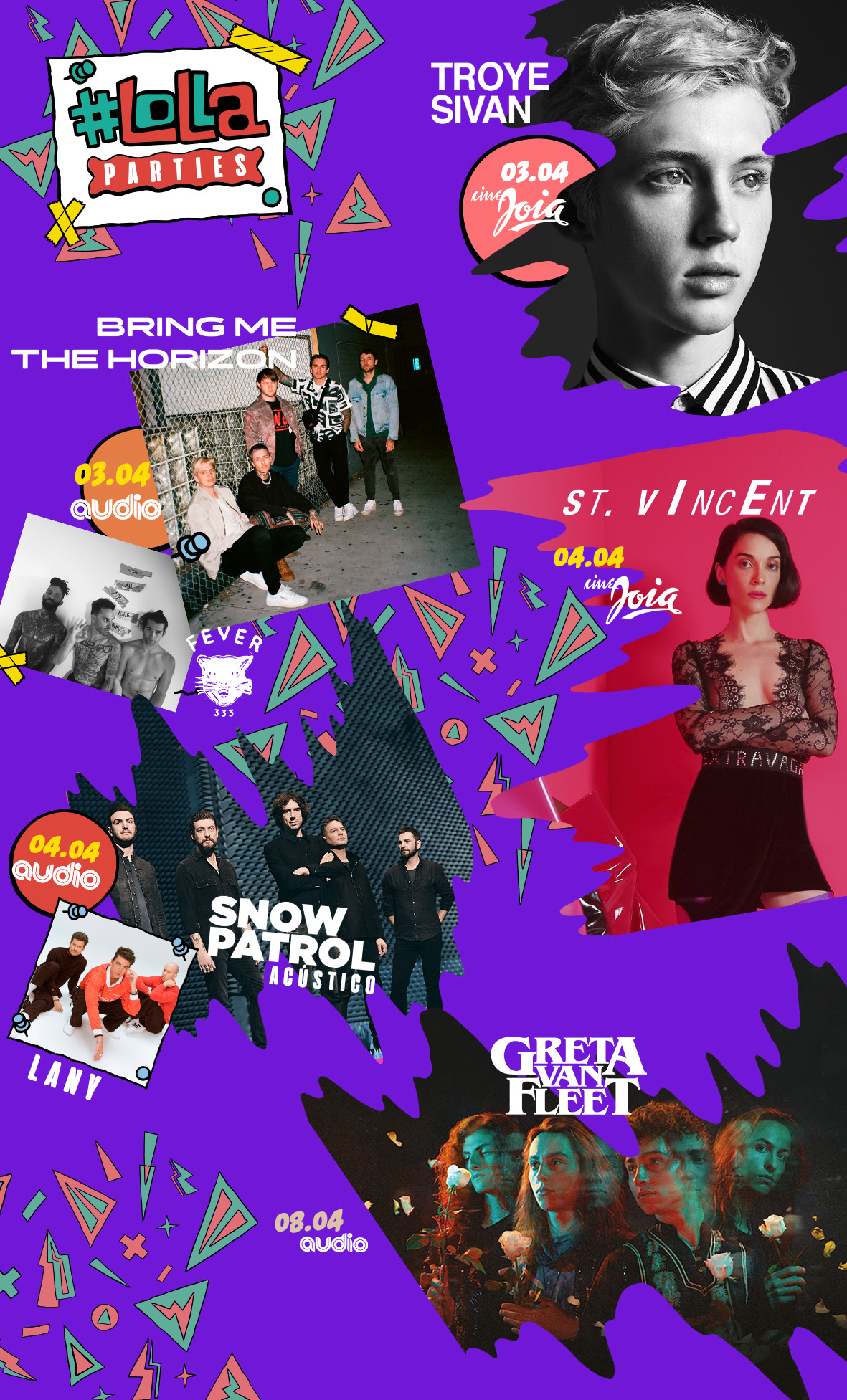 Lolla Parties: Lollapalooza Brasil 2019 anuncia shows solo em São Paulo