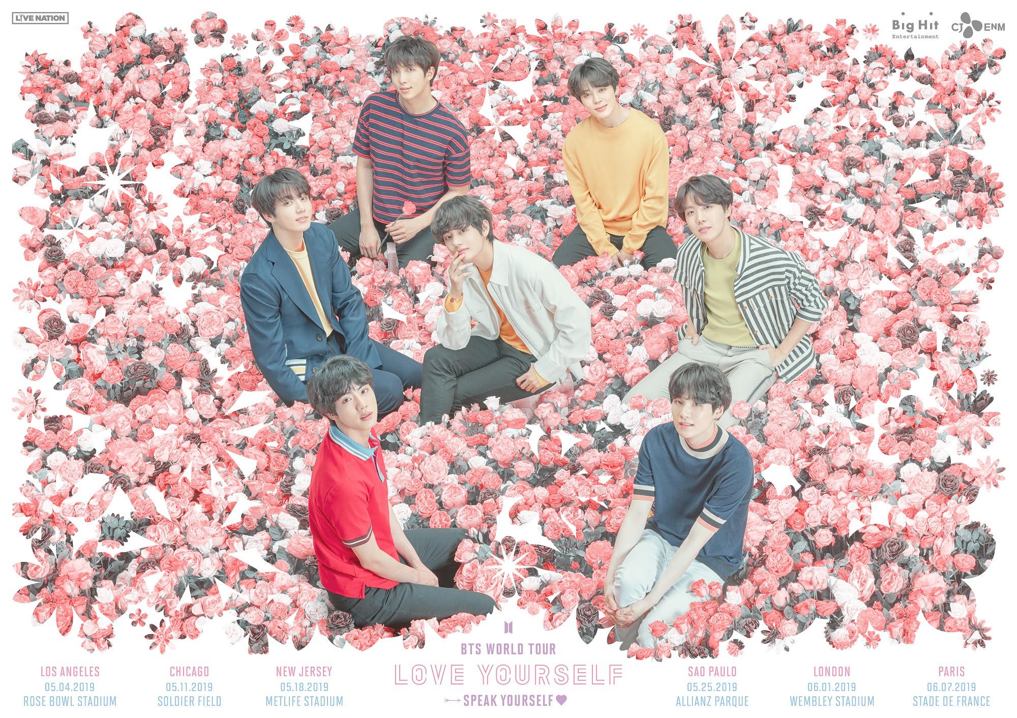 BTS confirma show no Brasil em 2019; confira detalhes