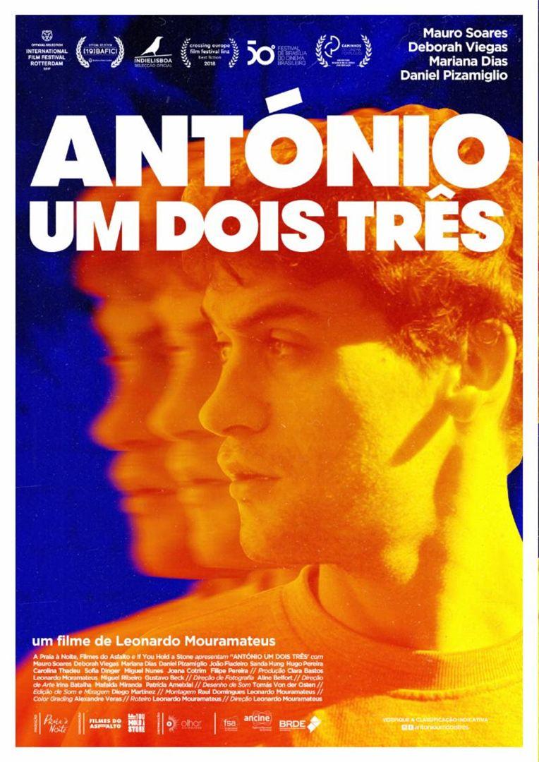 Poster de Antonio Um Dois Três