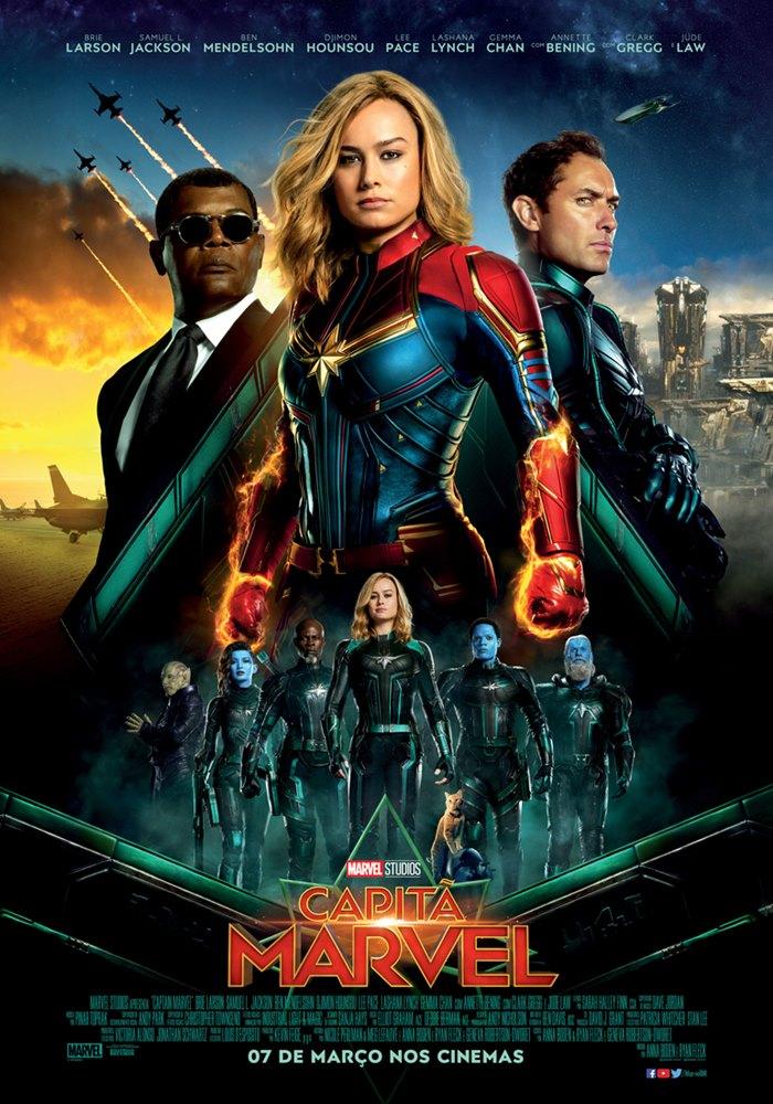Poster de Capitã Marvel