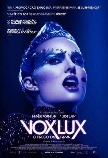 Poster de Vox Lux - O Preço da Fama