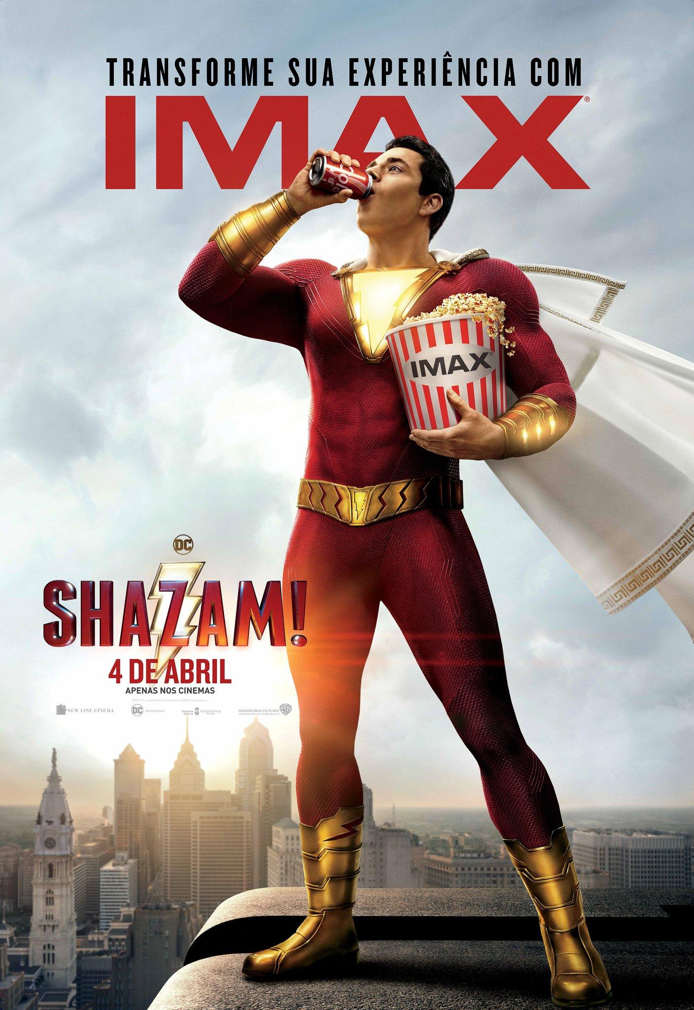 Poster IMAX de Shazam
